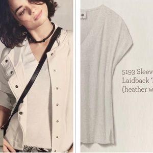 Cabi Sleeveless Laidback V Neck T shirt Style 5193